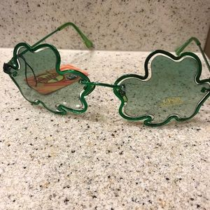 Accessories - St. Patrick's Day clover sunglasses